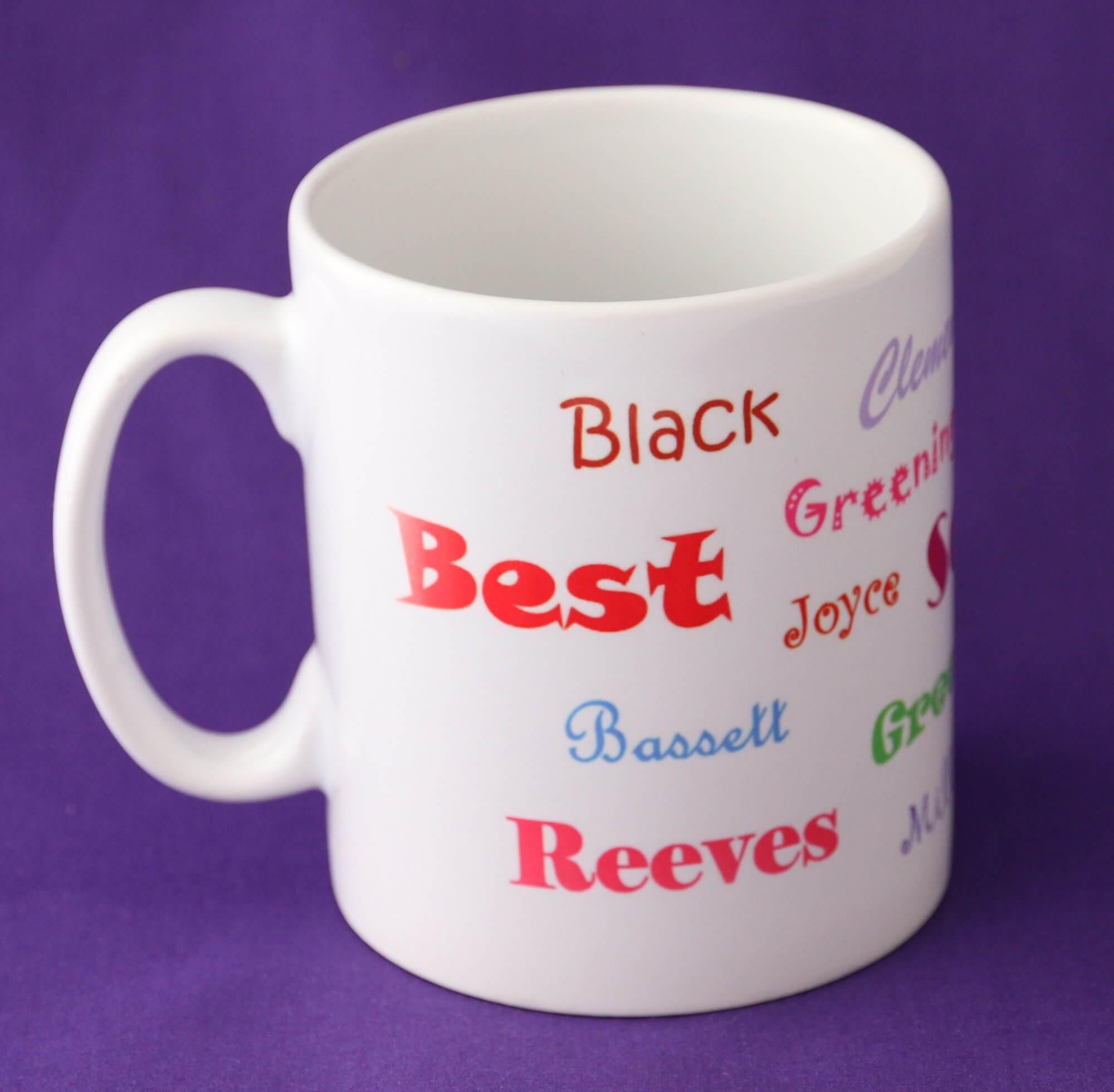 Ancestors' Surname mug