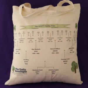Family Tree Bag (printed)