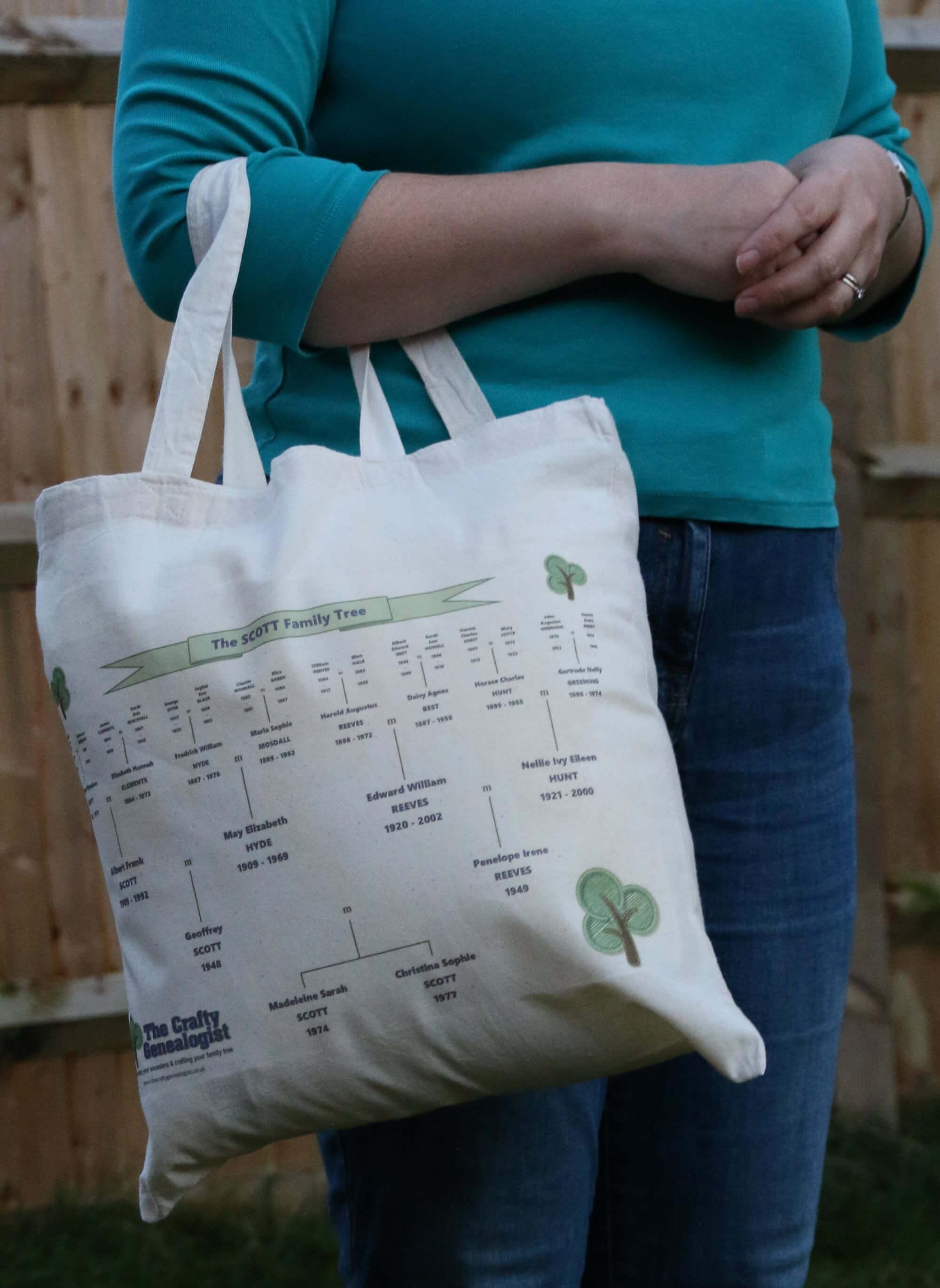 Family Tree Bag (printed)