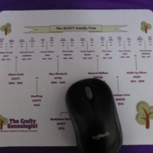 Family Tree Mouse Mat