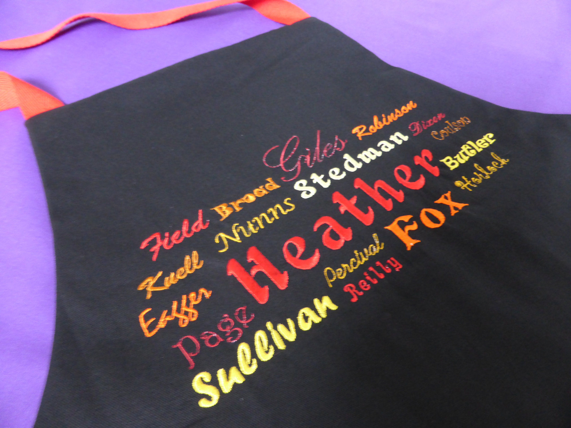 Heather apron