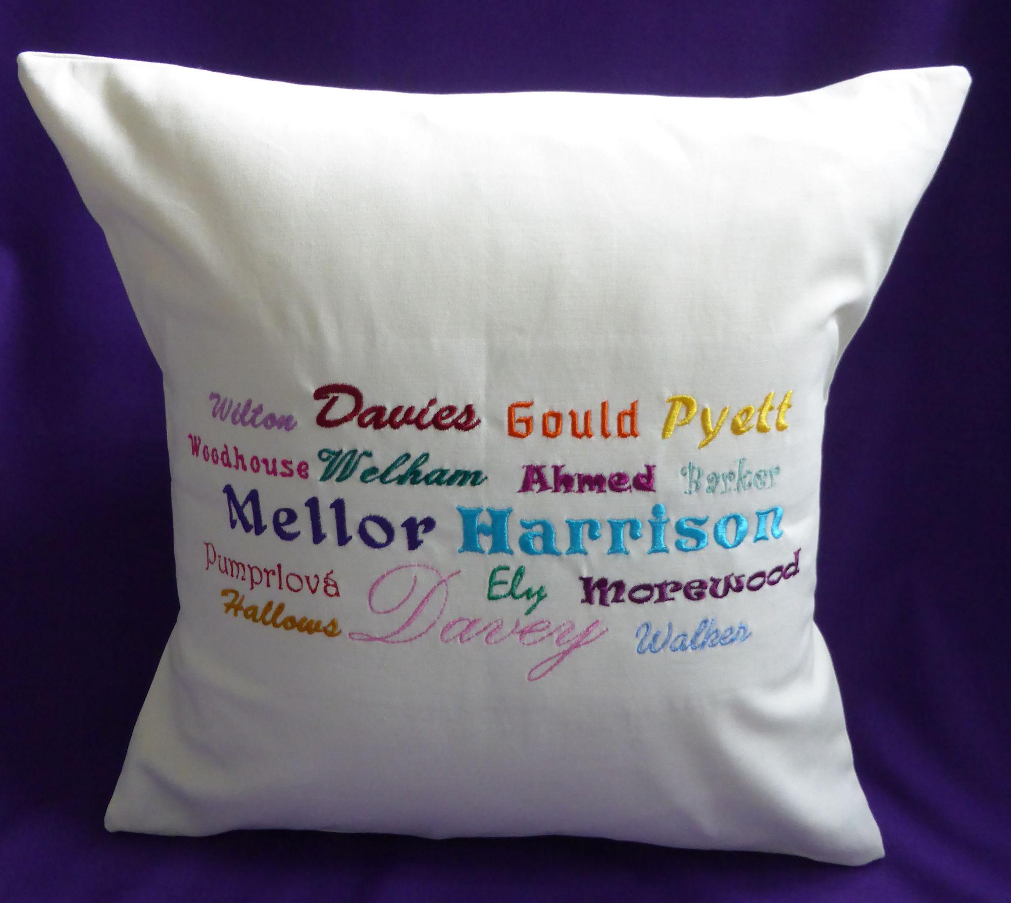 Ancestors cushion cover